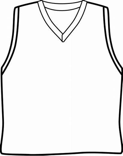 Basketball Jersey Clipart Blank Uniform Clip Template