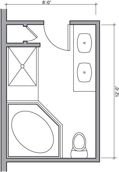 Small Bathroom Designs Floor Plans by Master Bathroom Floor Plans Bathroom Floor Plans