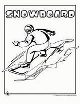 Coloring Olympic Olympics Winter Snowboarding Colouring Classroom Skiing Sheets Curling Games Jr Snowboard Visit Printable Ice sketch template