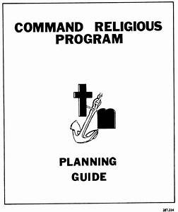 Cover Page From Command Religious Program Planning Guide