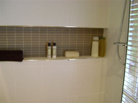recessed shower shelf time house builders from vacant block to home