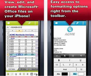 5 best office apps for iphone ipad users With edit office documents on iphone