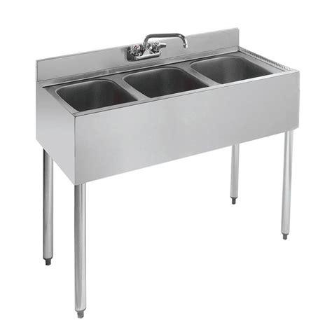 3 compartment sink price krowne 18 33 36 quot 3 compartment sink w 10 quot w x 14 quot l bowl