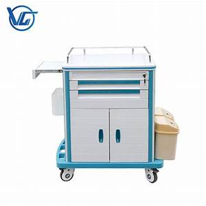 China Abs Medicine Trolley Factory
