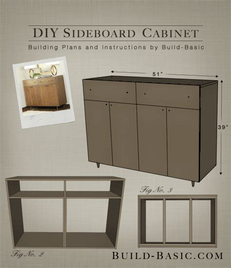 how to make a buffet cabinet build a diy sideboard cabinet build basic