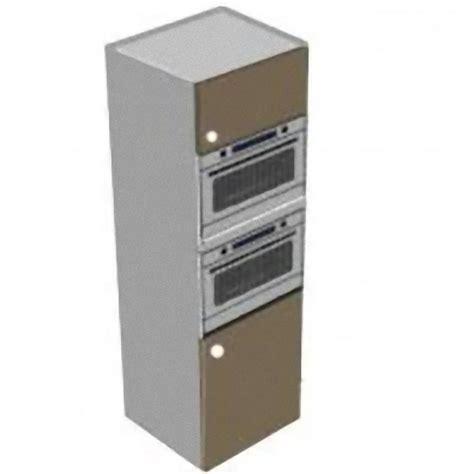 colonne four cuisine colonne four micro ondes avec 2 portes meubles de