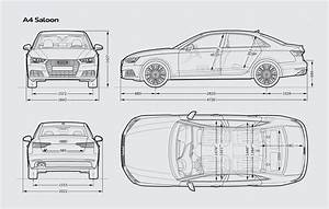 Dimension Audi A4 : audi a4 saloon audi uk ~ Medecine-chirurgie-esthetiques.com Avis de Voitures