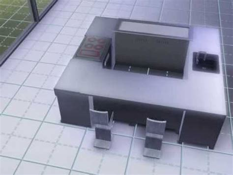 sims 3 cuisine astuce ilot central pour ou grande cuisine sims 3