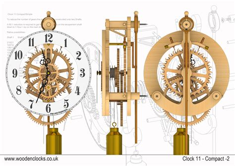 wooden clock patterns 171 free simple wooden clock plans free new generation woodworking