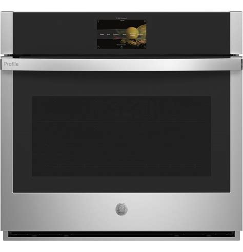 ge profile  stainless steel electric single oven built  ptssnss dick van dyke