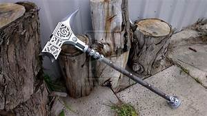 TES Skyrim: Steel Warhammer Prop Replica by TheAnti-Lily ...