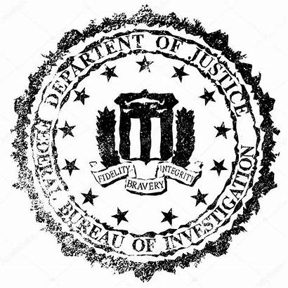 Fbi Stamp Seal Federal Rubber Bureau Background