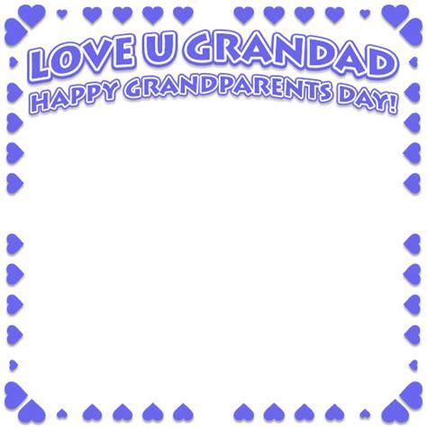 grandparents day borders happy grandparents day