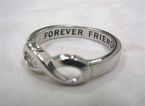 Infinity Ring Forever Friends Infinity Ring Infinity Sisters