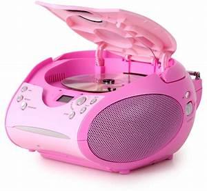 Cd Player Für Mädchen : anlage cd player m dchen musikspieler stereoanlage kinderzimmer fm radio pink ebay ~ Orissabook.com Haus und Dekorationen