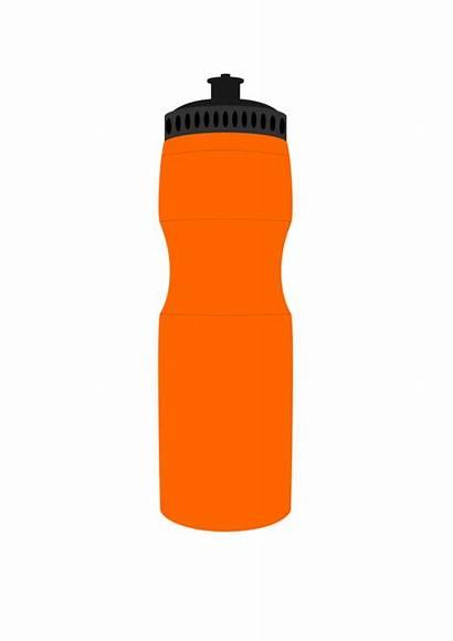Bottle Water Clip Clipart Sports Publicdomainfiles Domain