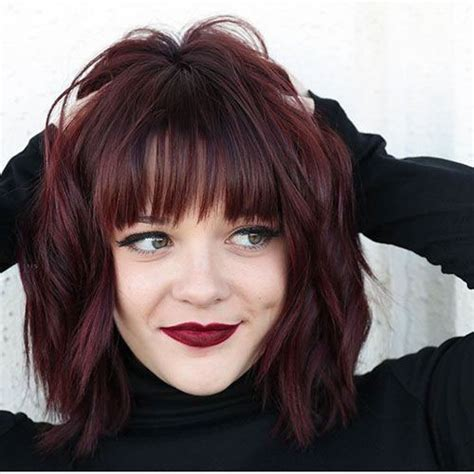40+ Cute And Best Medium Bob With Bangs Hairstyles Best