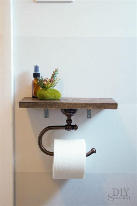 toilet paper holder shelf toilet paper holder shelf and bathroom accessoriesdiy show