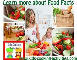 Use These Food Facts Sheets To Teach Your Kids About The Food We Eat
