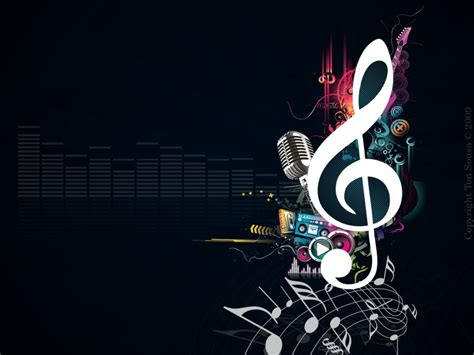 info wallpapers music notes wallpaper