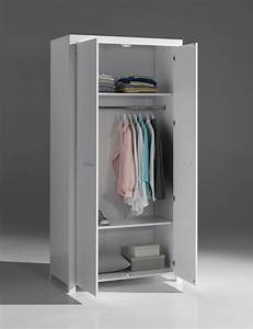 Kleiderschrank 2 Türig Weiß : kleiderschrank erik 2 t rig wei kinder kleiderschr nke ~ Eleganceandgraceweddings.com Haus und Dekorationen