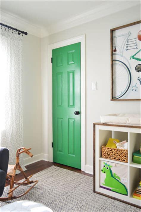 a colorful door more nursery art house love