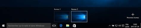 bureaux virtuels sortie officielle de windows 10 présentation et opinion