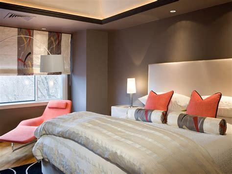 Bedroom Color by Liv Design Color Palette Gray And Orange Bedrooms