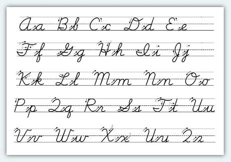 Learn How To Write In Cursive  A Research Guide For Students