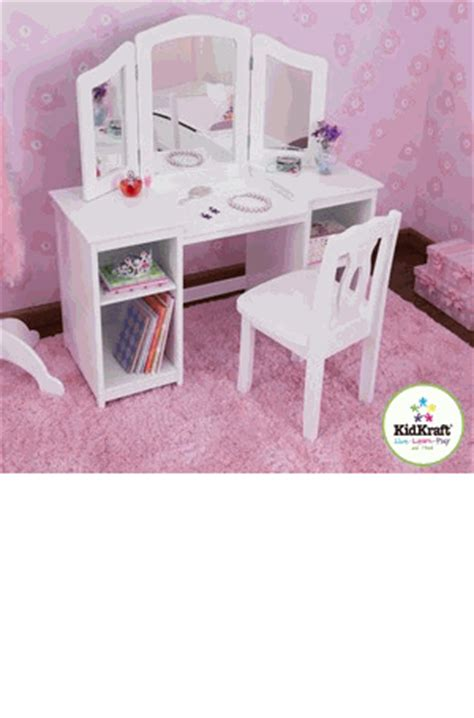 kidkraft deluxe vanity and chair kidkraft deluxe vanity and chair kidkraft vanity