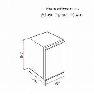 Acheter Un Frigo : frigo top encastrable excellent meuble pour frigo top ~ Premium-room.com Idées de Décoration