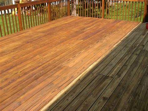 cleaning wood deck with top deck cleaners and decking service pro near you