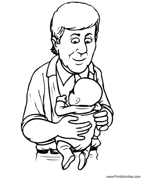 dad coloring pages coloring home