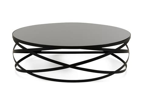 Shop for modern coffee tables, contemporary coffee tables and modern glass coffee tables at eurway. Modrest Wixon Modern Black Round Coffee Table - Coffee ...