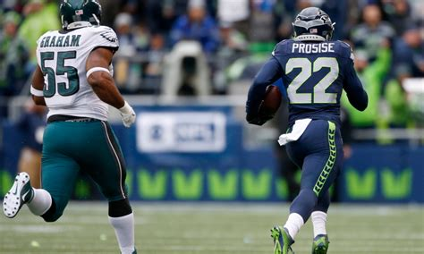 seahawks rb cj prosise inactive  falcons  saturday