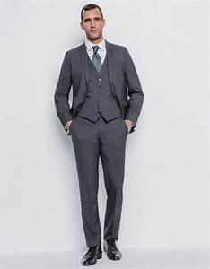 Costume Mariage Homme Gris : costume homme laine gris homme brice fr ~ Mglfilm.com Idées de Décoration