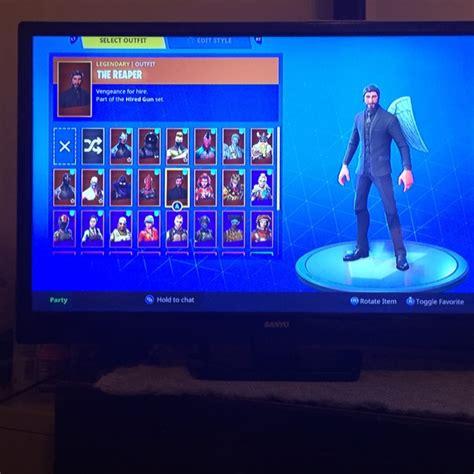 fortnite account  sale xbox  games gameflip