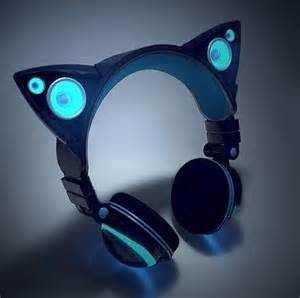 headphones with cat ears cat ear headphones by axentwear gadgets and skynet