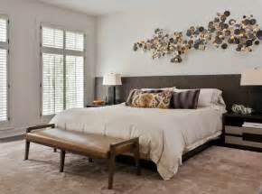 wanddeko ideen kopfteil für bett wird zur wanddeko im schlafzimmer
