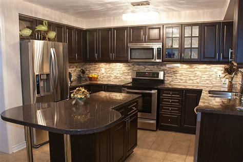 dark kitchen cabinets    option classic home