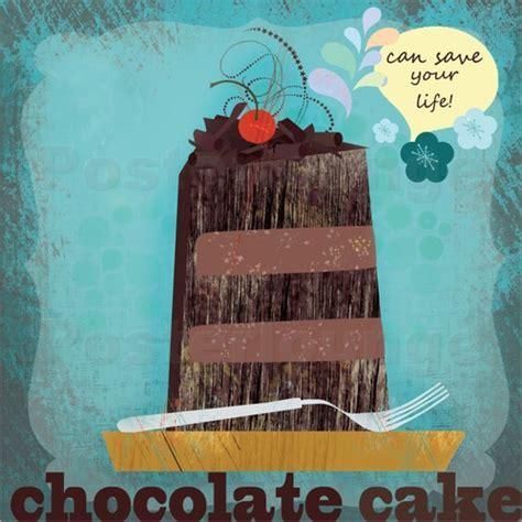 elisandra sevenstar chocolate cake poster posterlounge