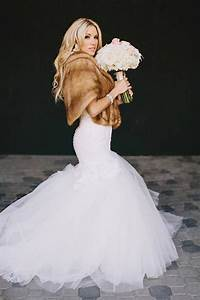 115 best images about ways to wear a fur stole on With fur wedding dress