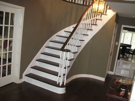 refinish banister how do i refinish my staircase diy