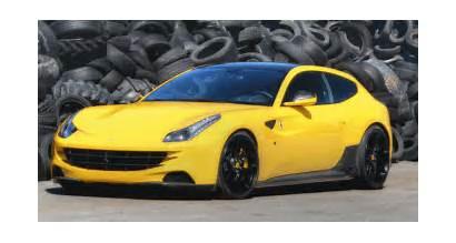 Ff Ferrari Tuning Launch Rosso Control Novitec