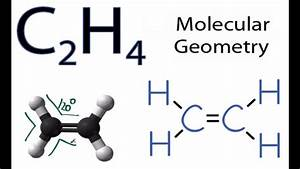 C2h4 Molecular Geometry    Shape And Bond Angles