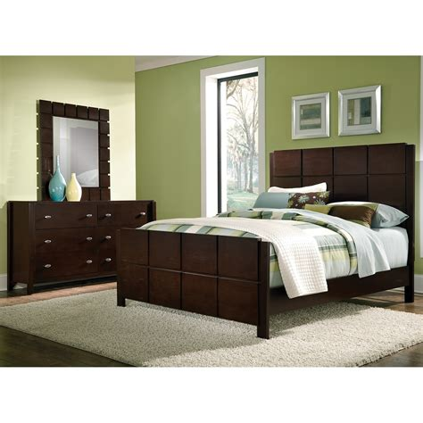king bedroom sets mosaic 5 king bedroom set brown