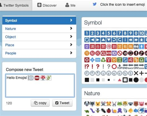 twitter symboles smiley emoji  des emoticones