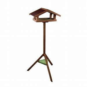 Mangeoire Oiseaux Sur Pied : mangeoire sur pied eco mangeoire pour oiseaux des jardins zolux wanimo ~ Teatrodelosmanantiales.com Idées de Décoration