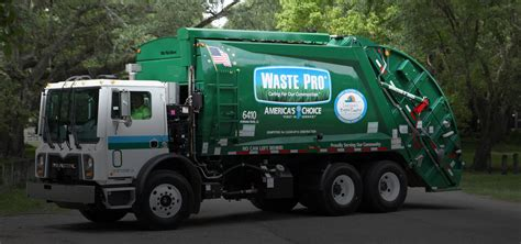 waste pro usa residential  commercial collection services