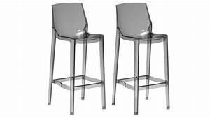 Tabouret De Bar Plexiglas : tabourets de cuisine plexi design lot de 2 storc mobilier moss ~ Teatrodelosmanantiales.com Idées de Décoration